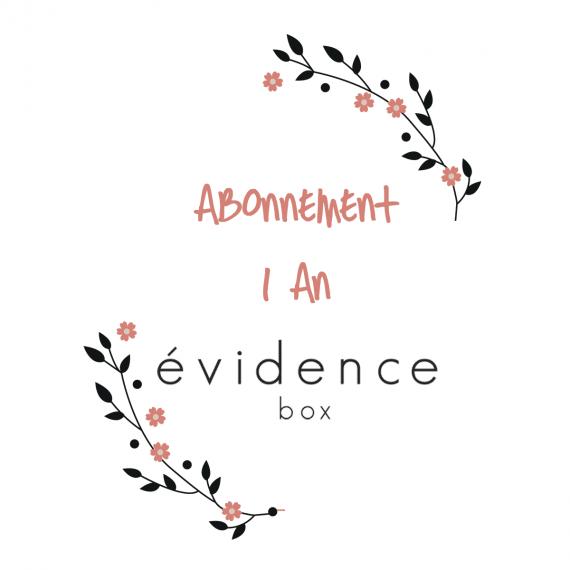 Abonnement 1 an à Box évidence