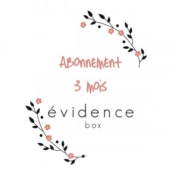 Abonnement 3 mois à Box évidence