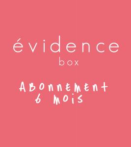 box evidence abonnement 6 mois