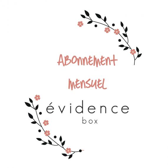 box evidence abonnement mensuel