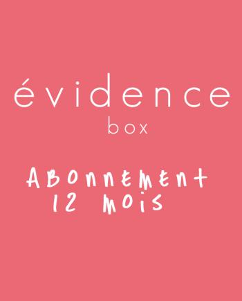 Box évidence abonnement 1 an
