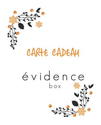 Carte Cadeau - Box évidence