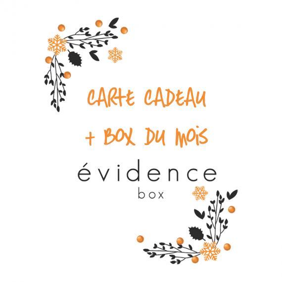 Carte Cadeau et Box du mois - Box évidence
