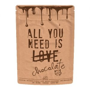 All you need is Organic Chocolate