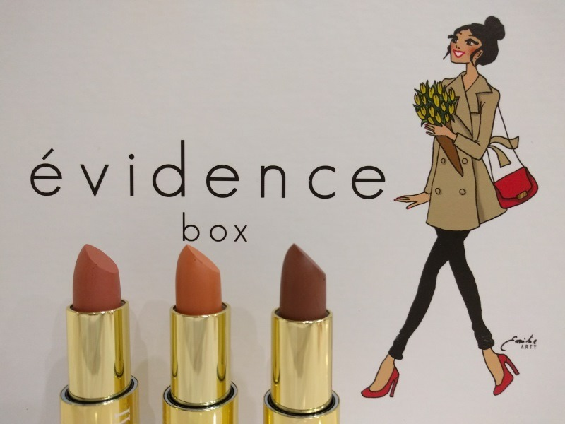 rouge a levre box beaute evidence
