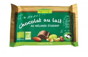 chocolat au lait melange etudiant bio rapunzel
