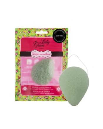 Eponge aloevera lady green