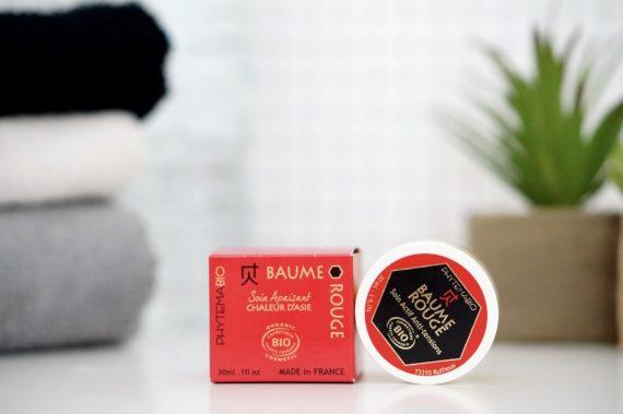 baume rouge chaleur d'Asie de Phytema