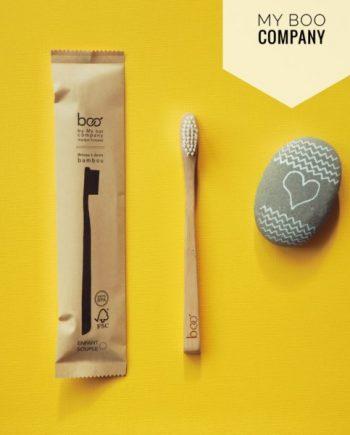 brosse a dent zero dechet bambou