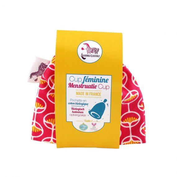 cup menstruelle lamazuna rouge