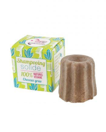shampoing solide cheveux gras bio