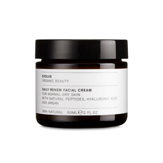 Crème Visage hydratante Argan & Acide Hyaluronique 60ml - EVOLVE BEAUTY