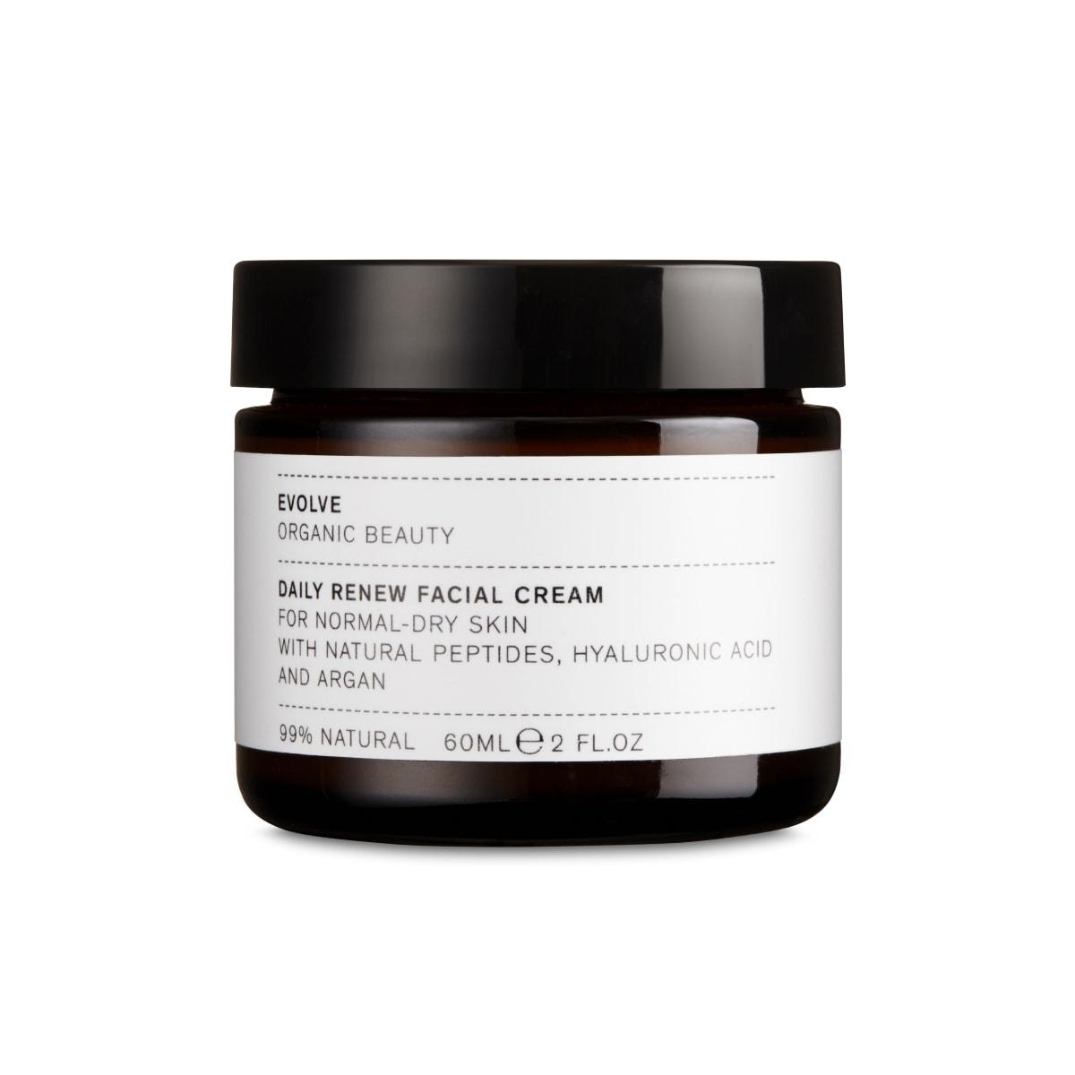cr me visage hydratante argan acide hyaluronique 60ml evolve beauty box vidence. Black Bedroom Furniture Sets. Home Design Ideas
