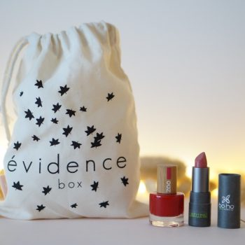 Trousse maquillage Box évidence