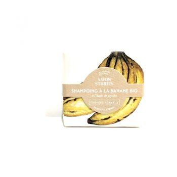 Shampoing à la banane Bio- Cheveux normaux - SAVON STORIES