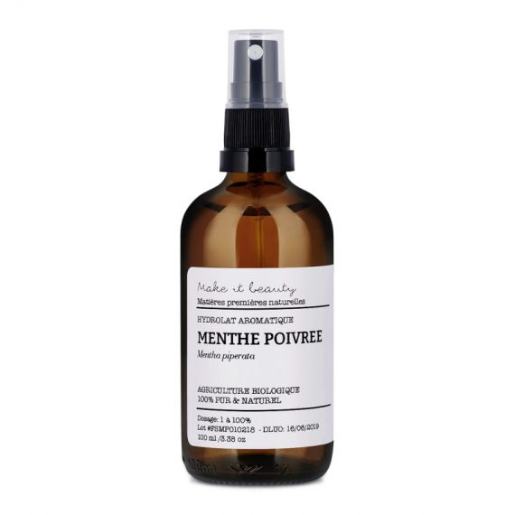 hydrolat aromatique de menthe poivree make it beauty