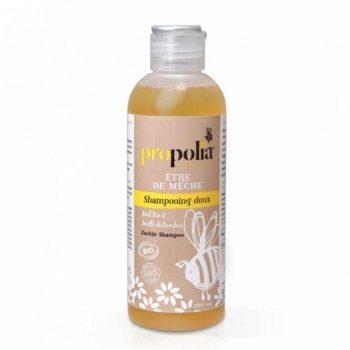 shampoing doux bio 200ml etre de meche propolia box evidence