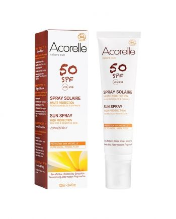 acorelle spray solaire 50 box evidence