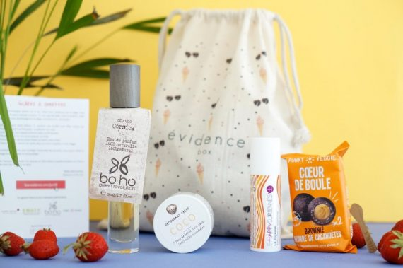 Glaces & Sunglasses - Box évidence Juin 2018