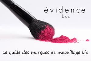 guide des marques de maquillage bio