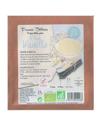 france delice flan sans sucre vanille