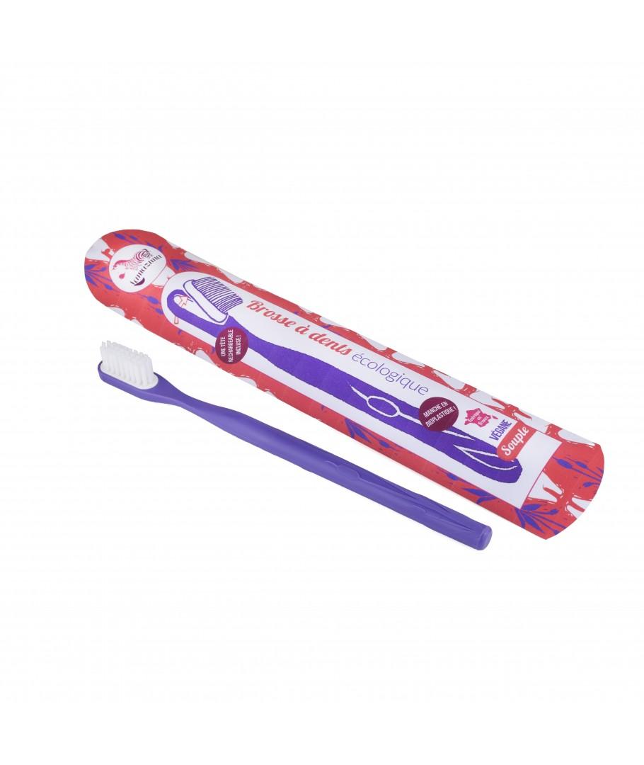 brosse a dents rechargeable violette min