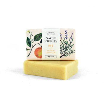 saponifie a froid exfoliant savon bio savon strories box evidence