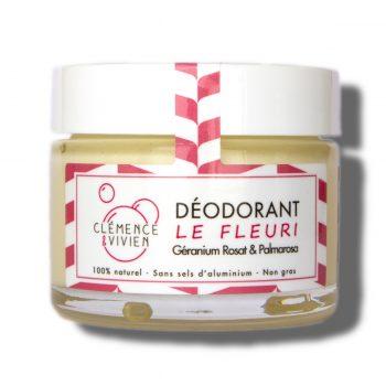 deodorant fleuri Clemence et Vivien