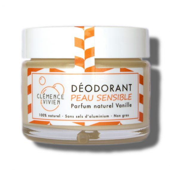déodorant vanille clémence et vivien