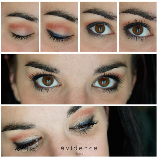 tuto maquillage fete soiree box evidence