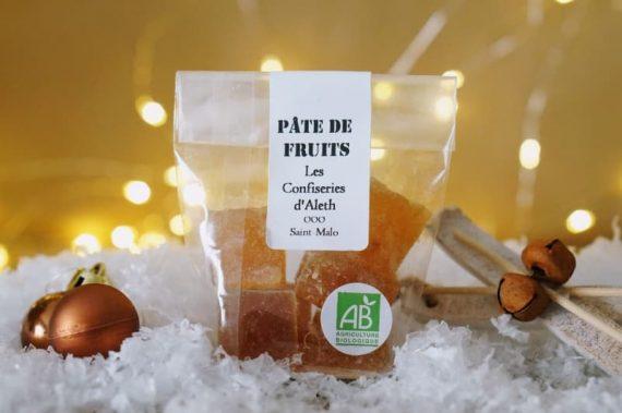 Pâtes de fruits Orange et Ananas Bio