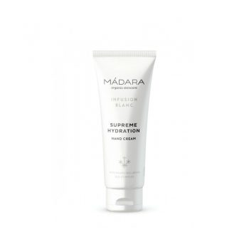 Crème mains Infusion Blanc Hydratation SUPREME - 75ml - MADARA