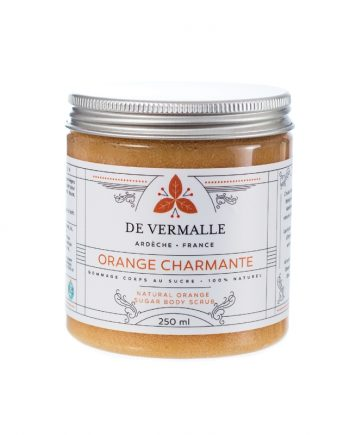 Gommage naturel au sucre ORANGE CHARMANTE - DE VERMALLE