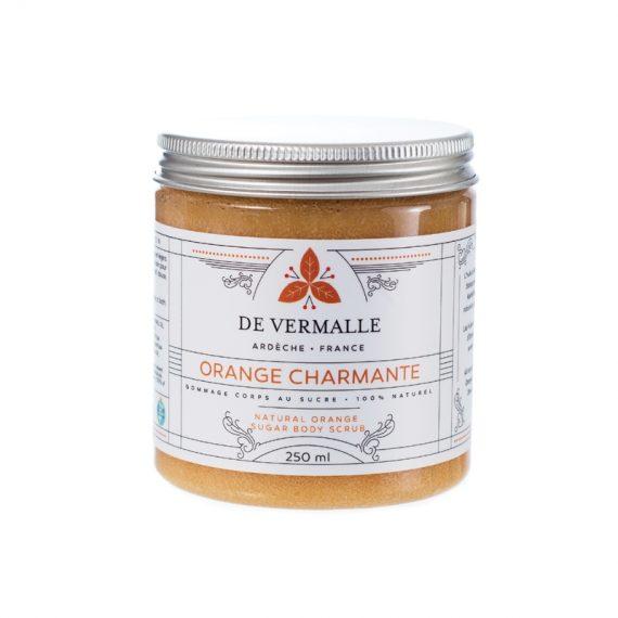Gommage naturel au sucre ORANGE CHARMANTE - DE VERMALLE