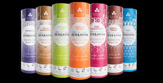 deodorant ben&anna naturel bio zero dechet