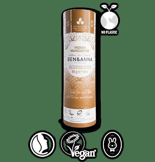 ben & anna deodorant zero dechet mandarine