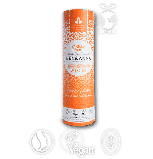 deo ben&anna naturel zero dechet vanille