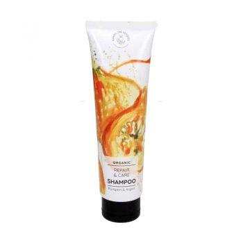 hand on veggie organic repair care shampoo
