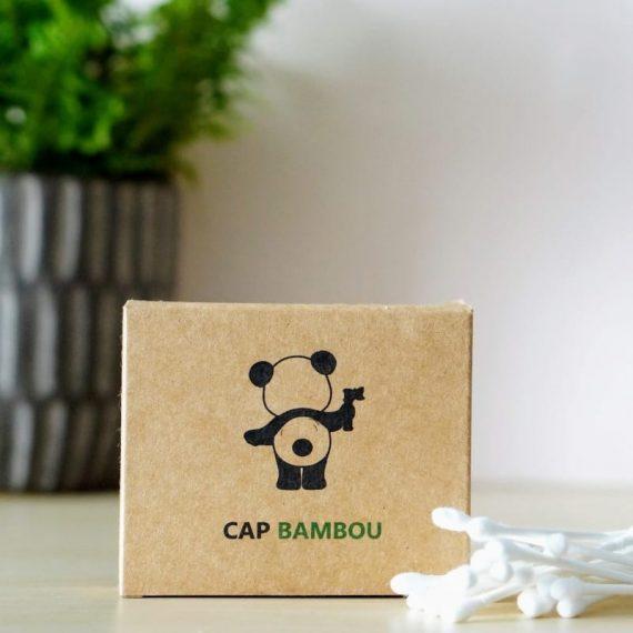 Cotons tiges en bambou – Cap Bambou