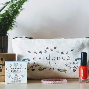 Box évidence - Mars 2019