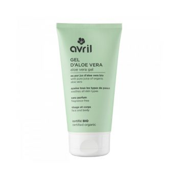 Gel d'Aloe vera bio 150ml - AVRIL