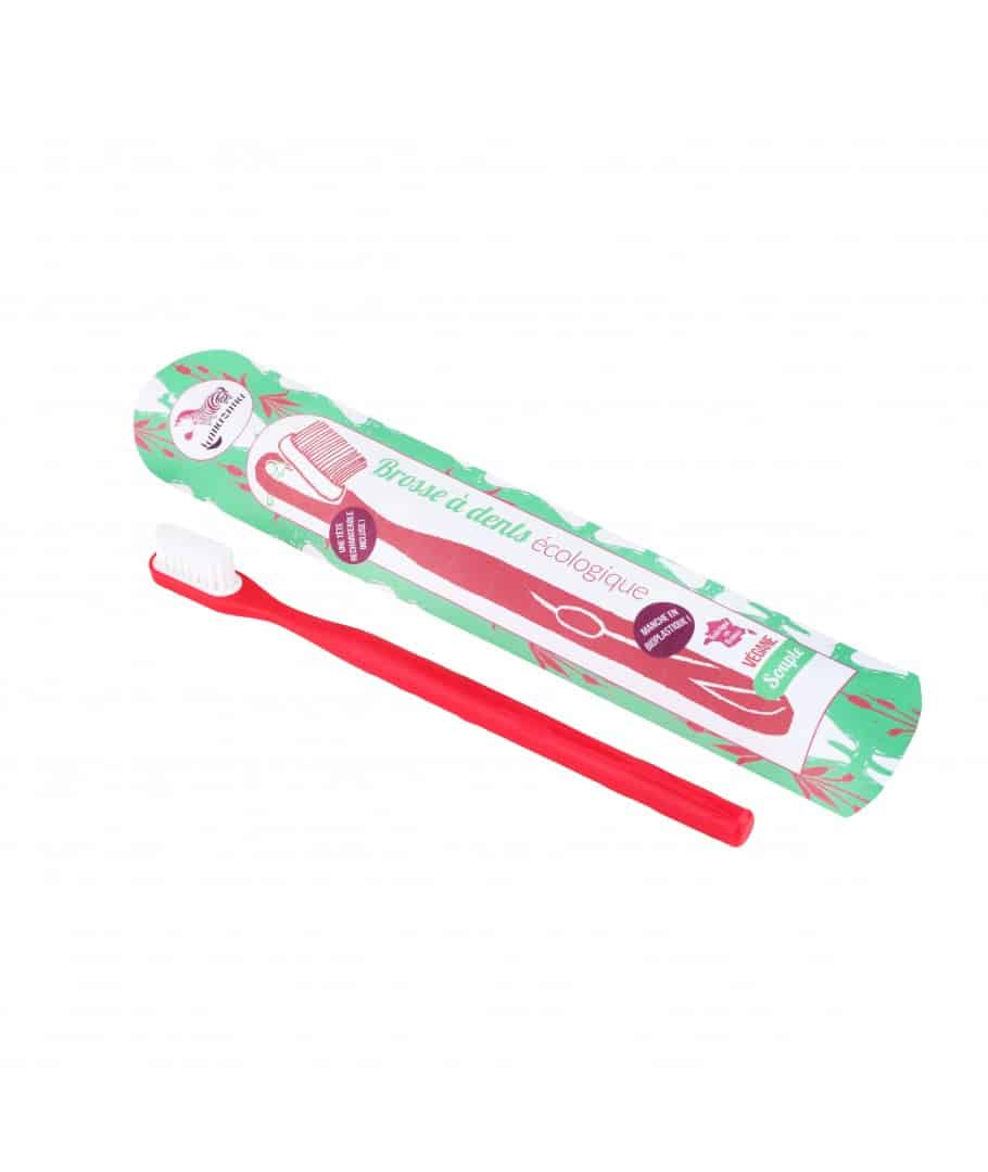 brosse a dents rechargeable rouge
