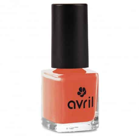 vernis a ongles rouge orange tomette cruelty free et vegan