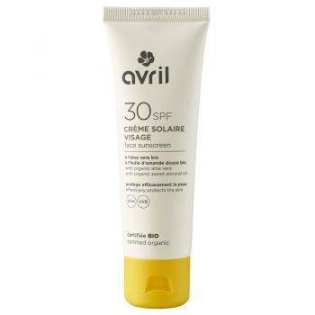 Crème solaire Visage SPF 30 - AVRIL