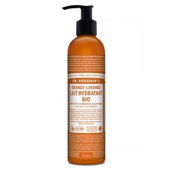Lait Hydratant BIO Orange - Lavande 240ml - Dr Bronner's