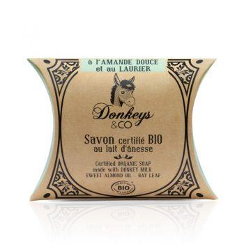 Savon au lait d'annesse à l'Amande Douce & Laurier - DONKEYS & CO