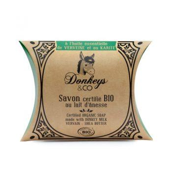 Savon au lait d'annesse Verveine & Karité - DONKEYS & CO