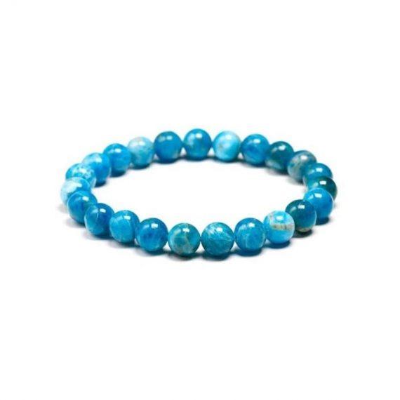 bracelet apatite bleue box evidence