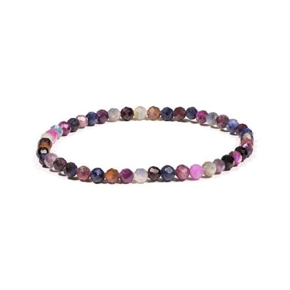 bracelet rubis saphir