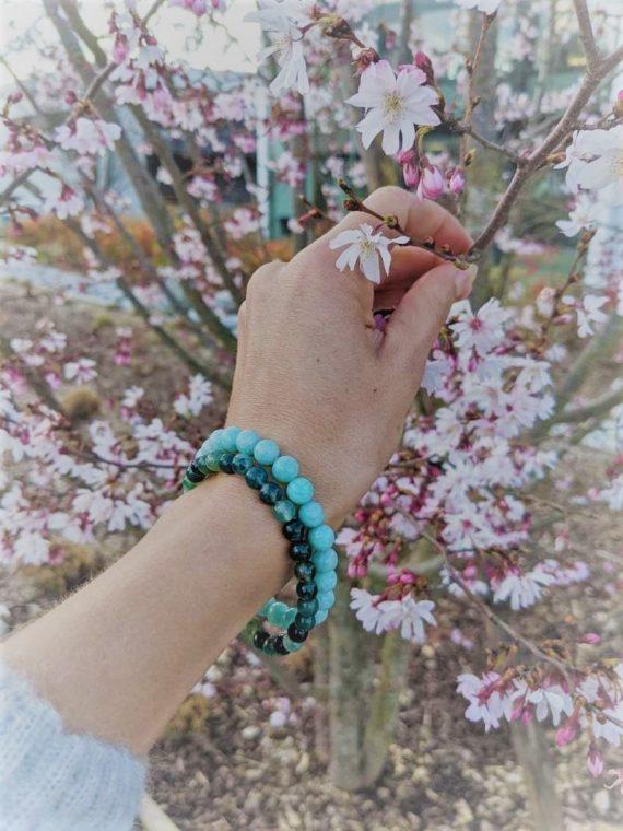 bracelet amazonite agate box evidence